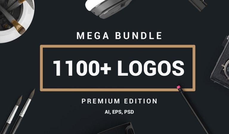 1100 Logos & Badges Bundle