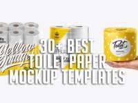 30+ Best Toilet Paper Mockup Templates