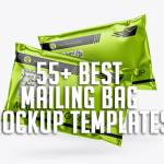 55+ Best Mailing Bag Mockup Templates