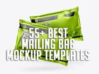 55+ Best Mailing Bag Mockup Templates
