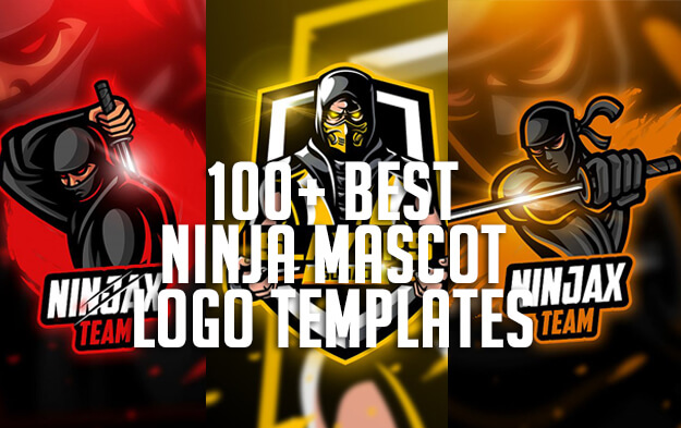 100+ Best Ninja Mascot Logo Templates for eSports, Team and Clan