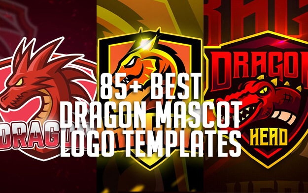 85+ Best Dragon Mascot Logo Templates for eSports, Team and Clan