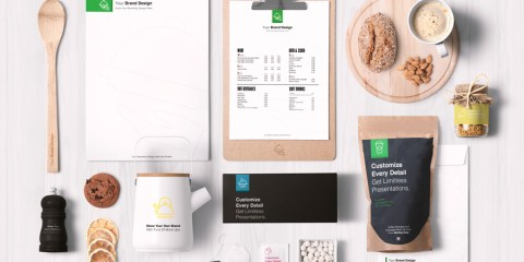Graphic Ghost - Coffee Branding And Packages Mockup
