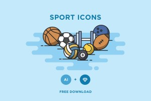 Graphic Ghost - Minimal Sport Vector Icons
