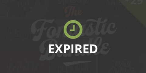 Graphic Ghost - The Fontastic Bundle - Expired