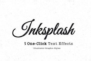 Graphic Ghost - Inksplash Text Effects