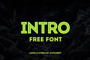 Graphic Ghost - Intro Free Font