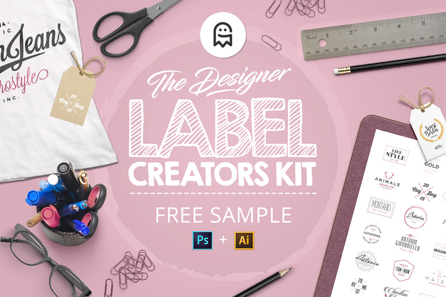 Graphic Ghost - The Designer Label Creators Kit