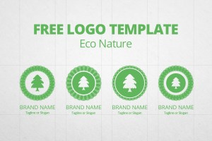 Graphic Ghost - Free Logo Template - Eco Nature