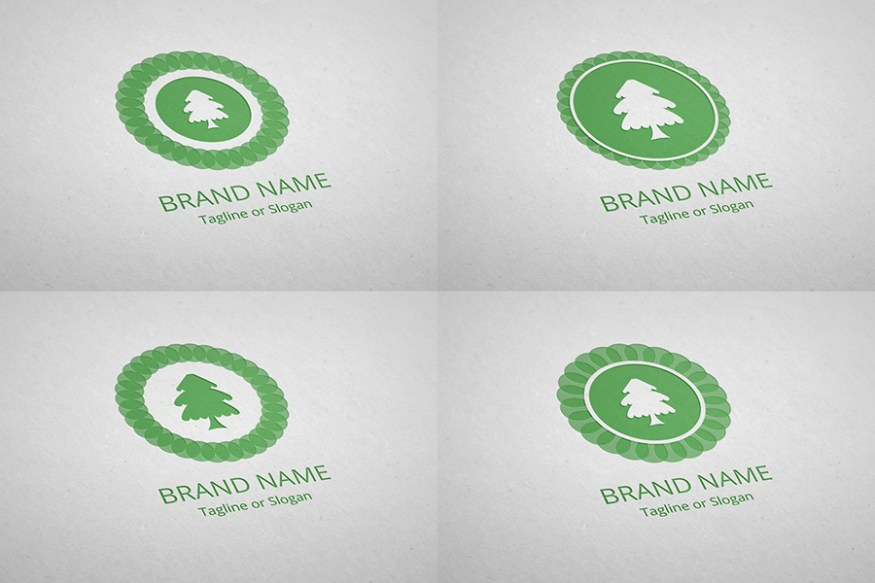 Graphic Ghost - Free Logo Template - Eco Nature 01