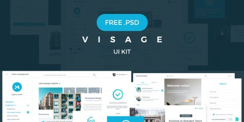 Graphic Ghost - Visage UI Kit