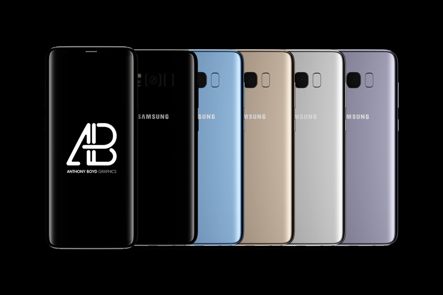 Samsung Galaxy S8 Plus Mockup PSD