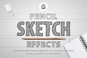 Graphic Ghost - Pencil Sketch Effects