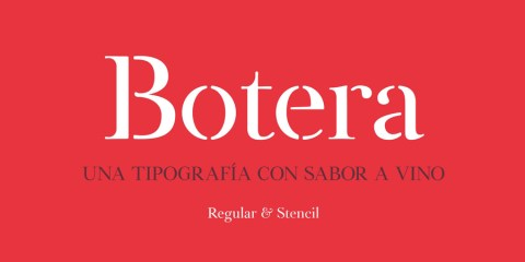 Graphic Ghost - Botera Free Serif Stencil Font