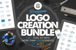 Graphic Ghost - Premium Logo Creation Bundle