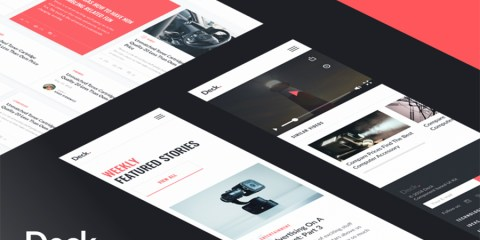 Graphic Ghost - InVision Deck - A Free Card-Style UI Kit
