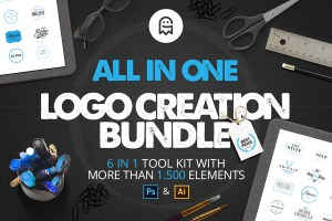 Graphic Ghost - All in One Logo Creation Bundle