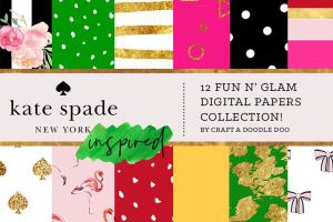 Graphic Ghost - Kate Spade Inspired Digital Prints