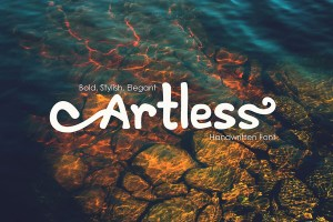 Graphic Ghost - Artless -Handwritten Font Demo