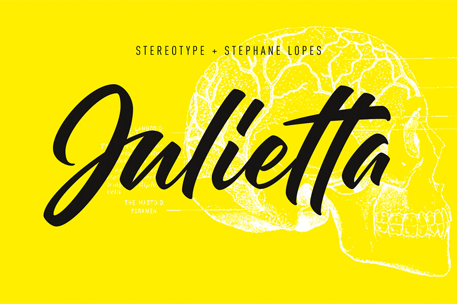 Graphic Ghost - Julietta - Free Script Lettering Font