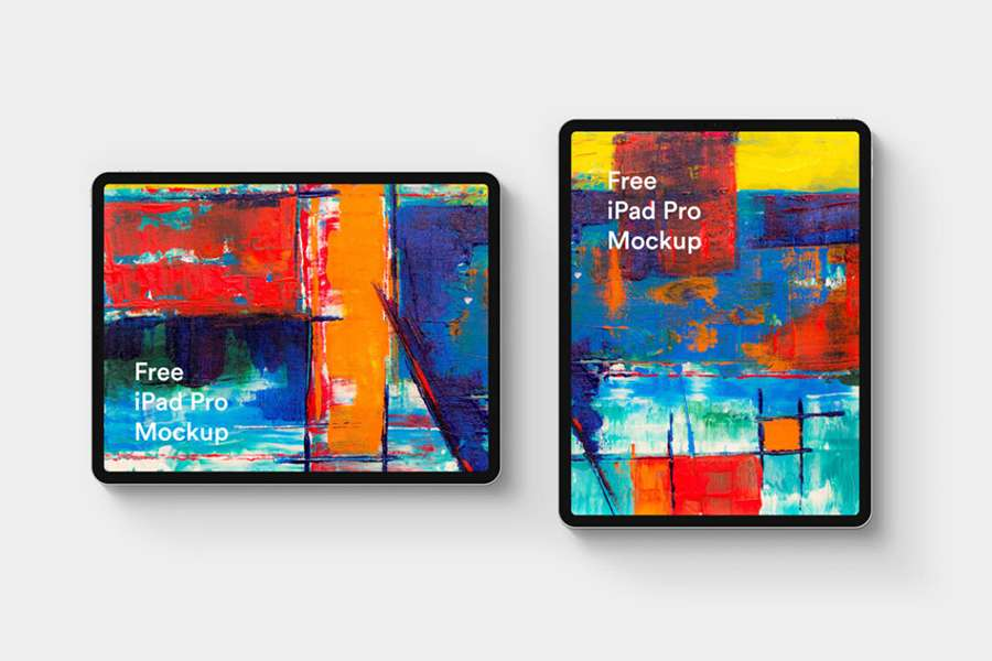 Graphic Ghost - Free iPad Pro Mockup