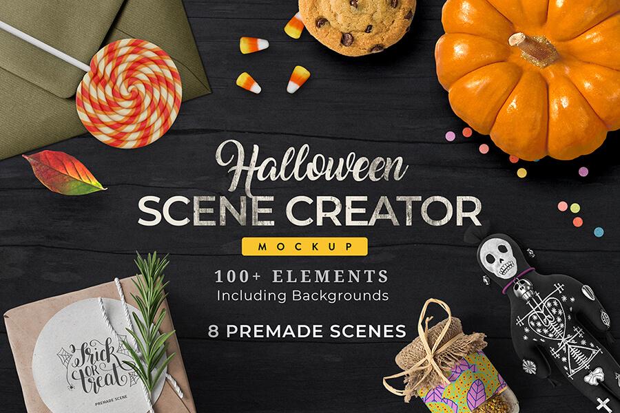 Graphic Ghost - Free Halloween Scene Creator