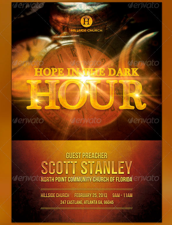 Black History Month Church Flyer Templates Graphicmule