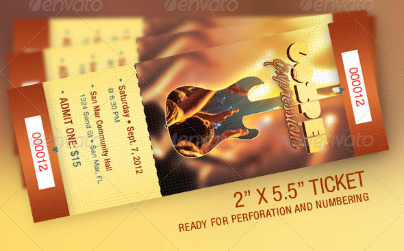 Gospel Expressions Flyer, Ticket and CD Template