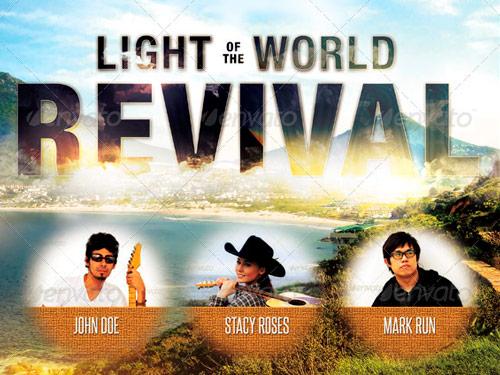 sample church revival flyers