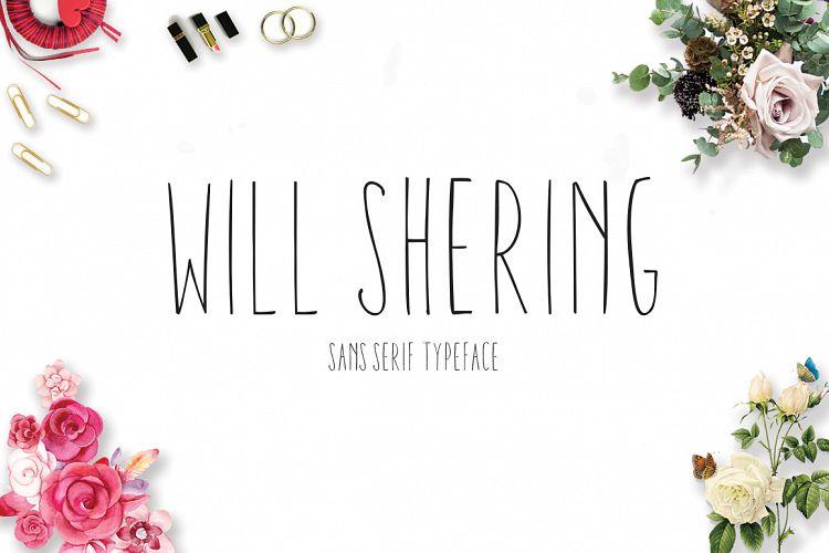 Willshering sans