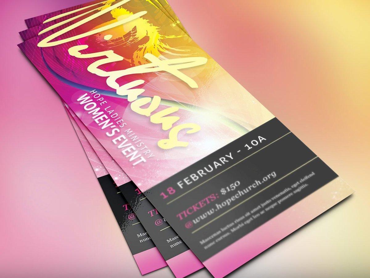 Virtuous Women Church Flyer - Best Church Flyer