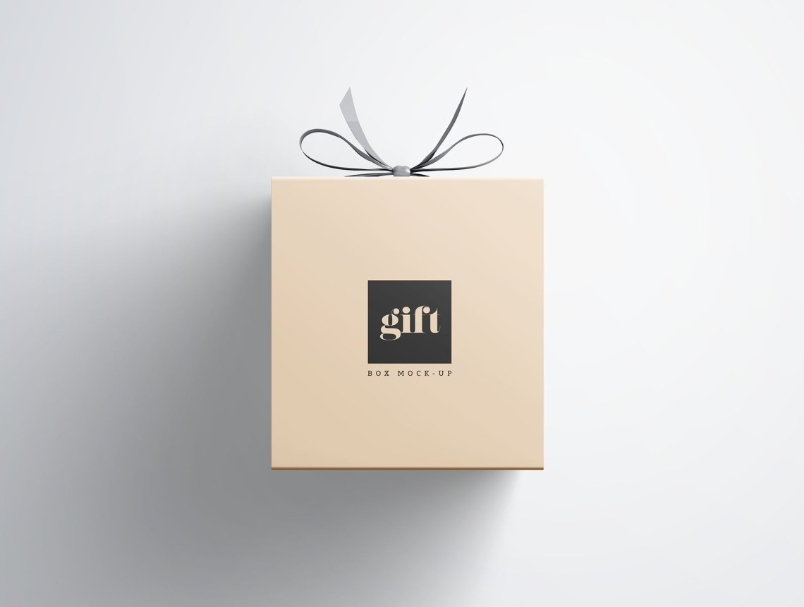 Download Gift Box Mockup
