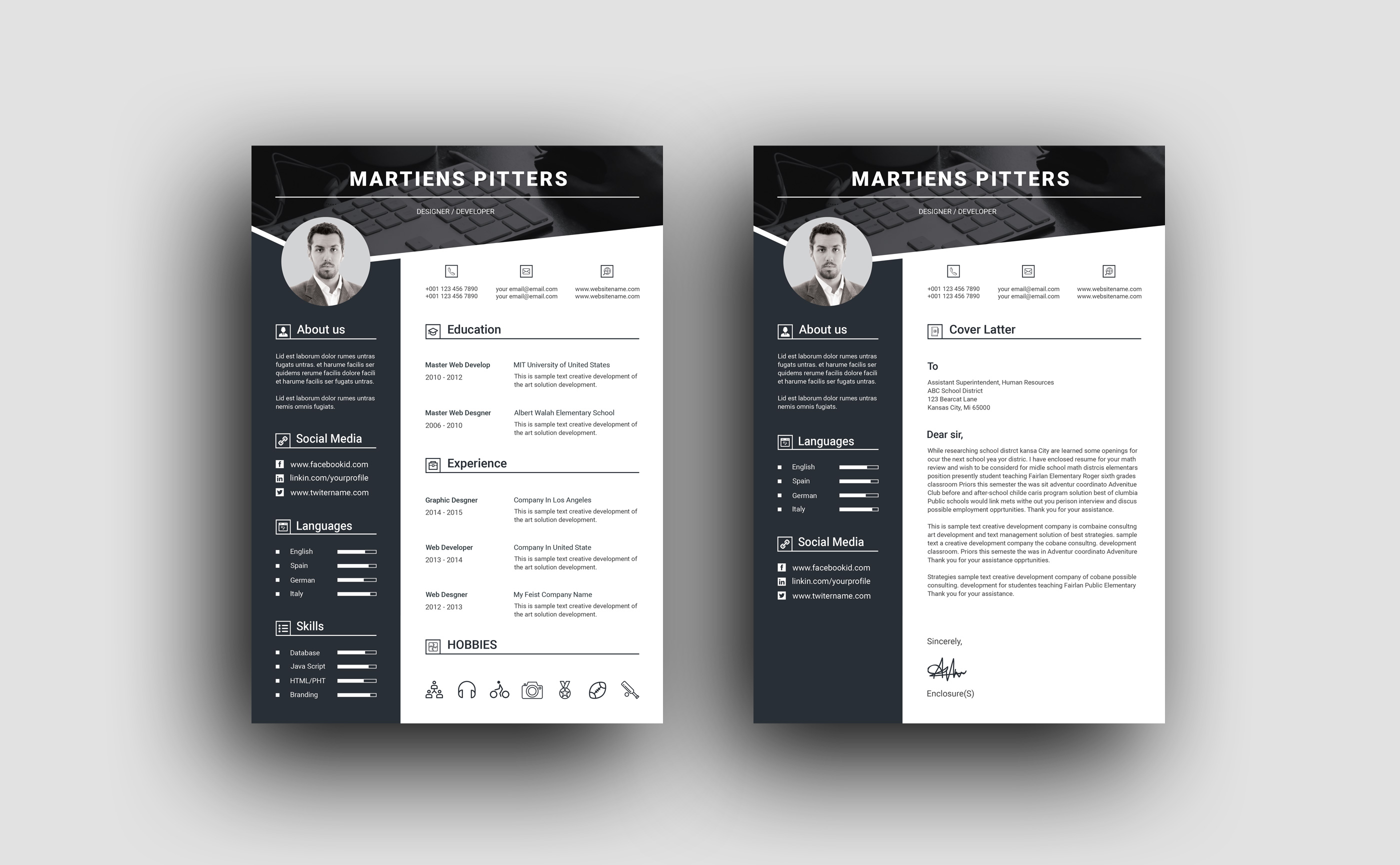 Premium Resume Templates from i1.wp.com