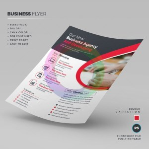 Clean Corporate Flyer Template