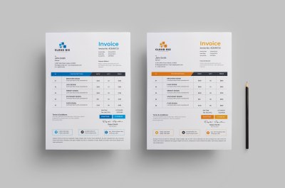 Creative Business Invoice Design