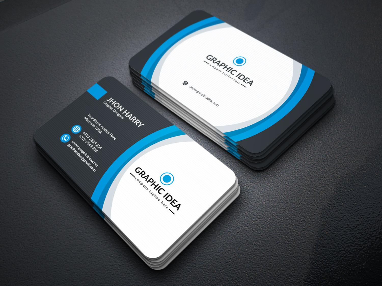 eps premium business card design template  graphic prime