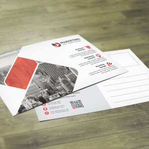 Corporate PSD Postcard Design Templates