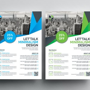Excellent PSD Flyer Templates