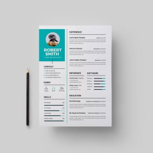 Modern CV Design Template