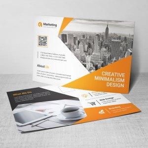 PSD Corporate Postcards