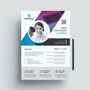Creative PSD Flyer Poster