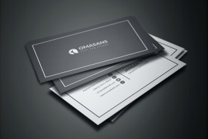 PSD Simple Business Cards