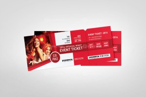 Creative Event Ticket Templates