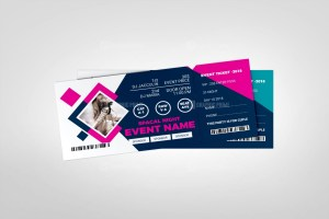 Party Event Ticket Template