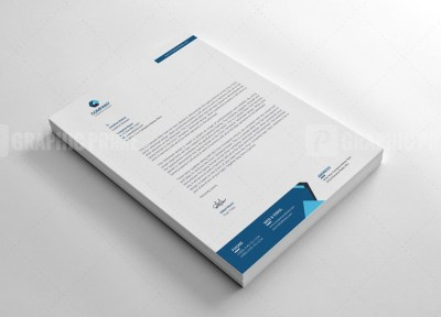 Enterprise Letterhead Design Template