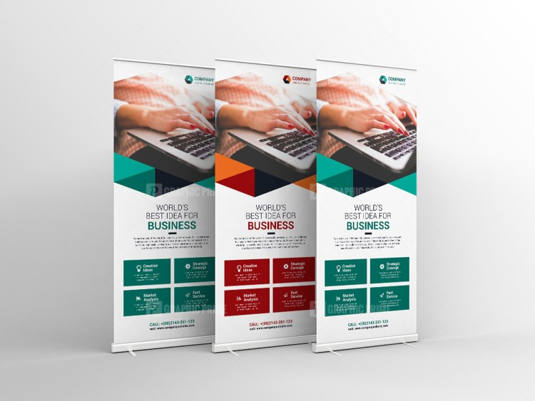 Corporate Professional Rollup Banner