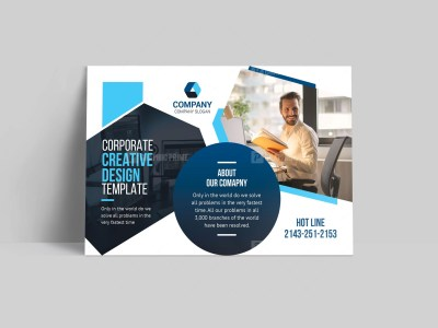 Consultant Postcard Template