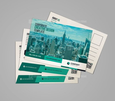 Creative Business Postcard Design