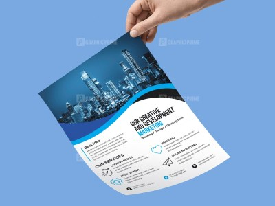 PSD Marketing Flyer