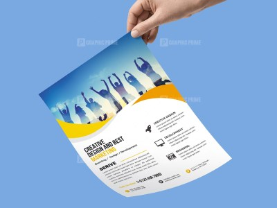 Simple Corporate Flyer Template
